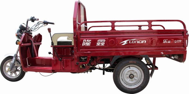 Loncin latest 600kg motorized 110cc/125cc/150cc adult diesel cargo 3 wheel motorcycle/cargo trike