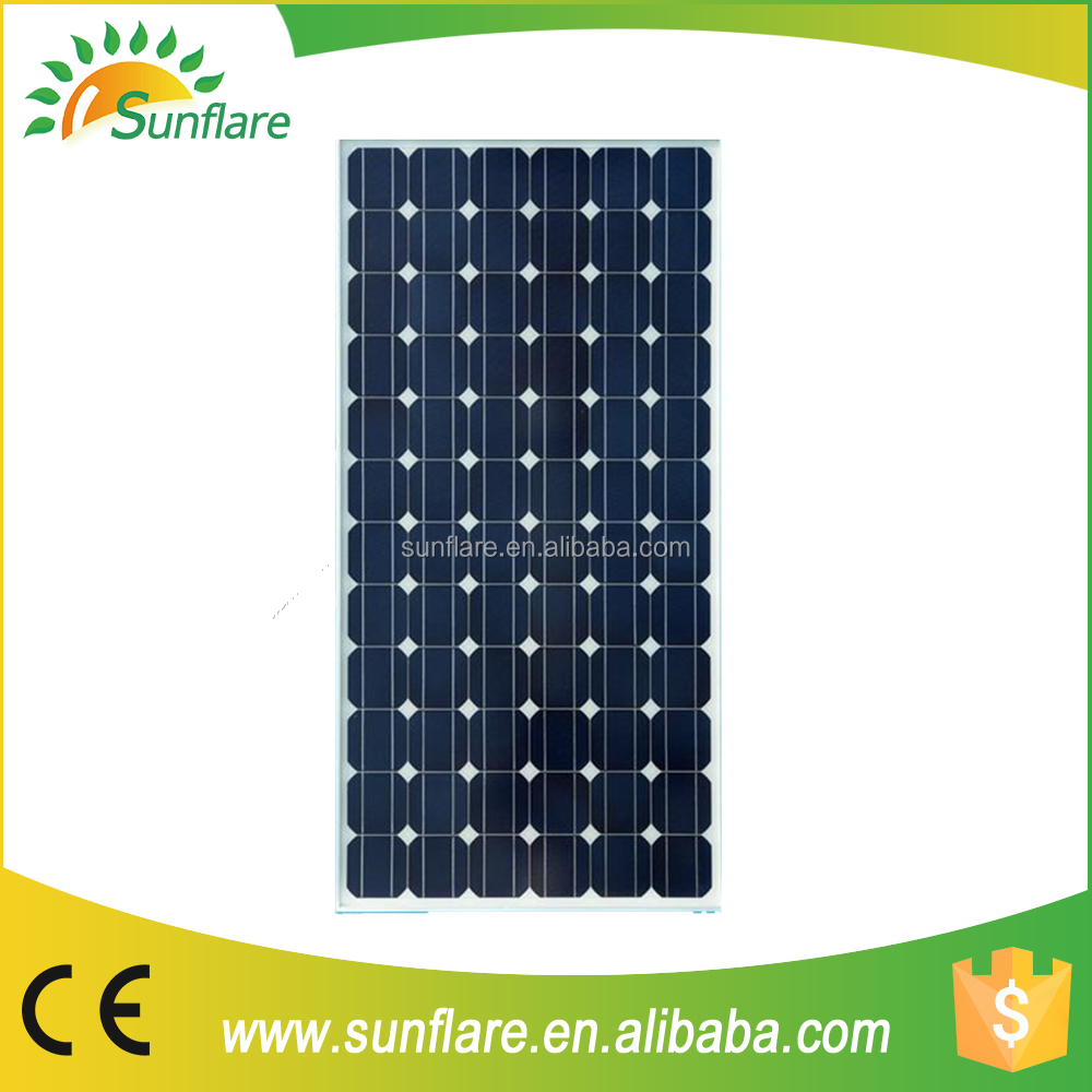 direct from Chinese factory fine price 200w mono solar panel