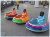 New pattern shining attractive DC 24V battery bumper car kiddie rides