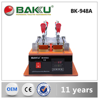 BAKU Hot sale mobile lcd making machine lcd disassemble glue separator machine (BK-948A)