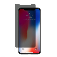 Free sample privacy full cover 9h tempered glass screen protector for iPhone X