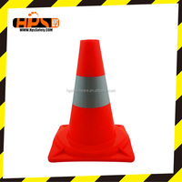 Red Road Signs Led Plastic Barricade, Small Warning Traffic Cone