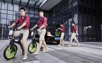 Inflatable Folding Electric Scooter,Portable Motorcycle,Two Wheel Foldable Moped