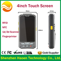 uhf rfid handheld reader fingerprint rfid reader wifi 4.3 inch android new china mobile models