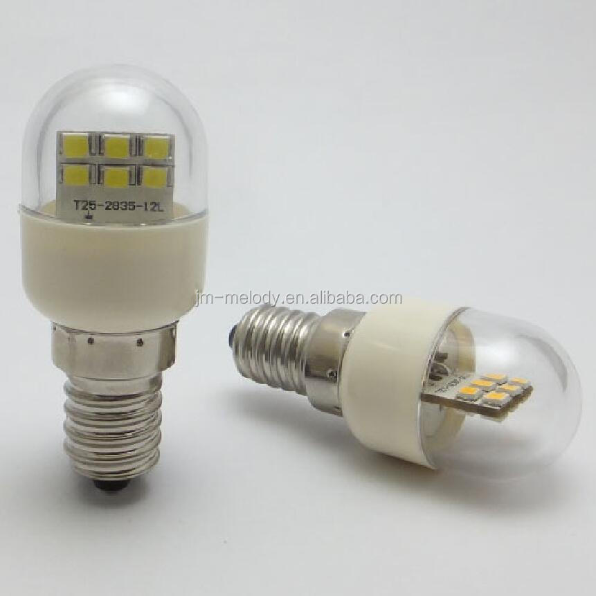12V 24V 36V 48V 60V 120V 220V T25 1W E12 E14 LED fridge Bulb lamp LED Freezer bulb Light LED refrigerator bulb LED pilot Lamp