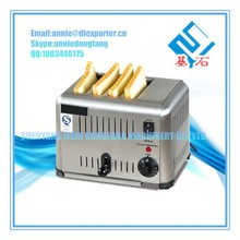 Commercial 6 Slice Stainless Steel Bread Toaster