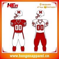 Hongen apparel Latest Model Sportwear New Designs Wholesale American Football Jersey