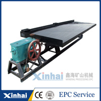 China Low Cost Gold Separating Machine Mining Shake Table