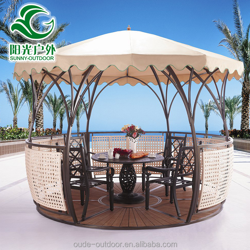 Simple Design Waterproof Outdoor Gazebo/Wind Resistant Gazebo