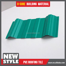 proper price waterproof material plastic waterproof roof tile in algeria