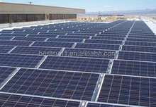 Roof 10KW large complete solar panel system on grid with solar panel rack 15000w
