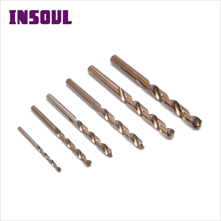 INSOUL DIN338 Factory Supply HSS Taper Shank Twist Step Metal Grinding Drill Bit