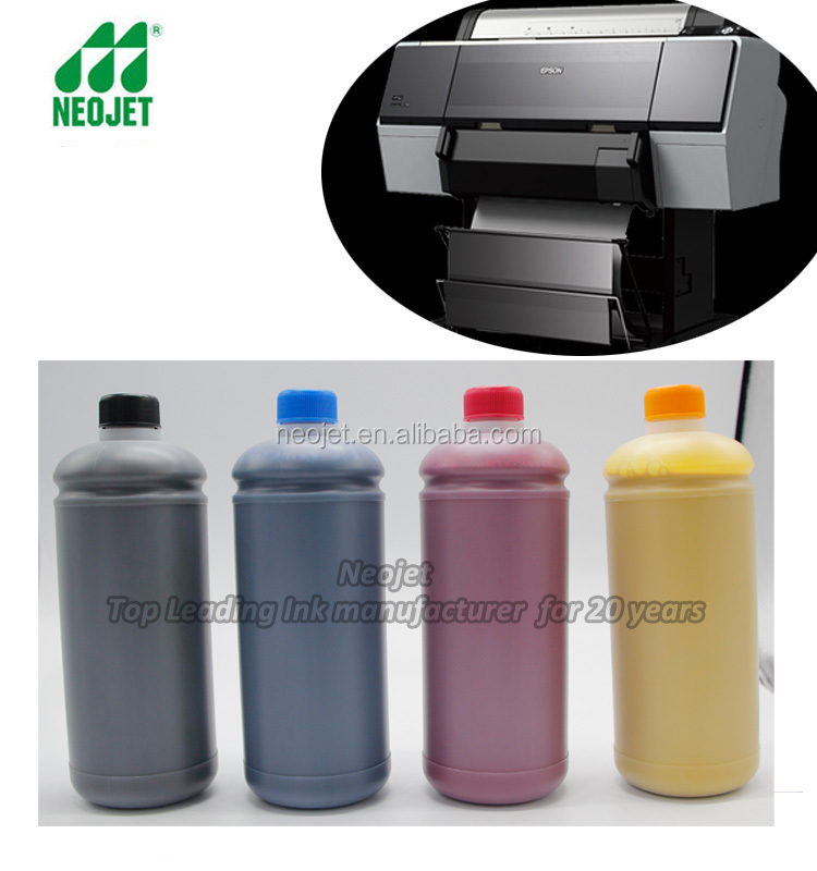 bulk pigment ink for epson and epson head wide format printer