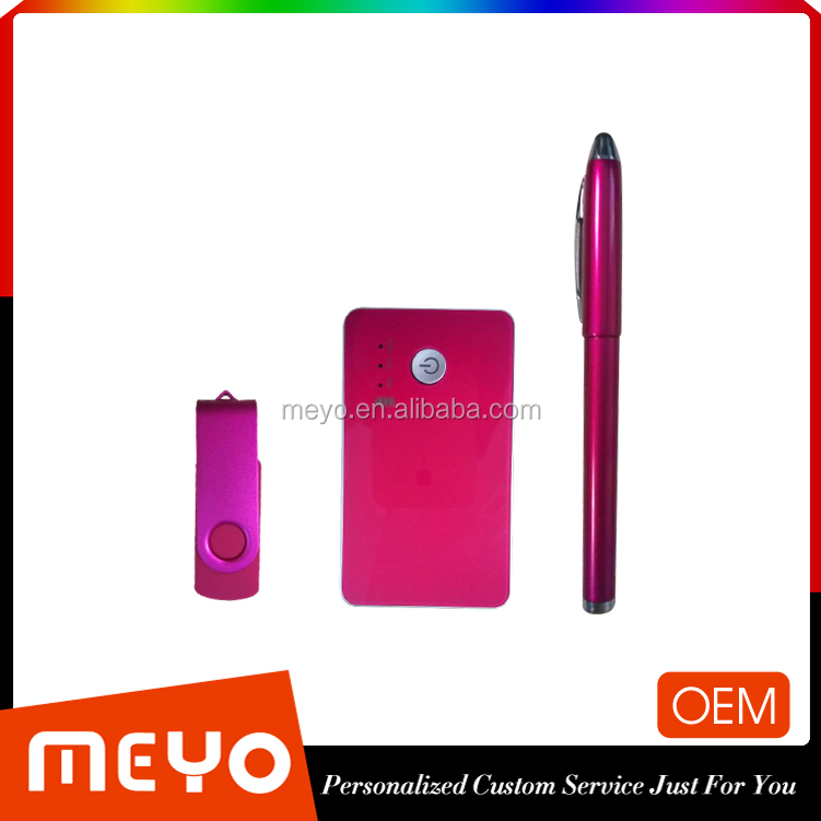 Promotional Premium and Promotion Gift Set Power Bank