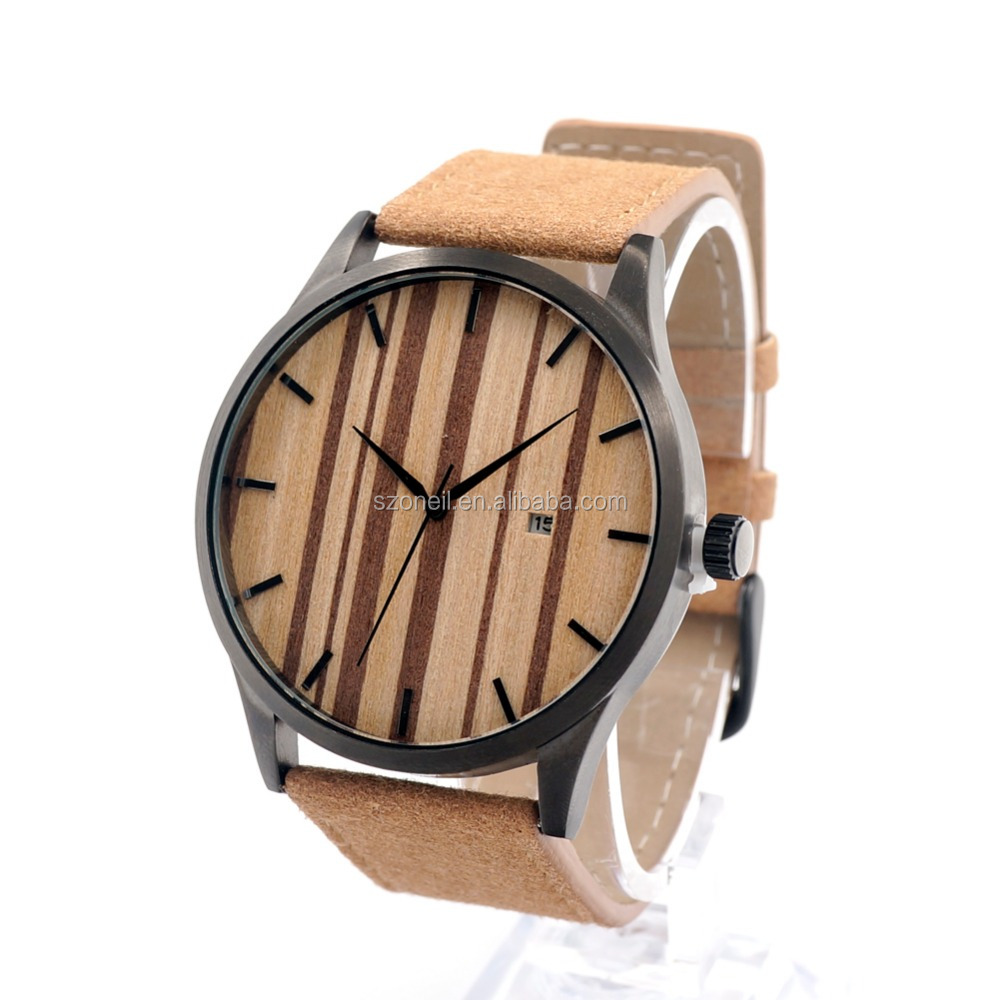 zebra wooden watches at good price couple watches fashion wood watch with your logo