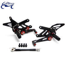 Motorcycle rest Rearset Footpegs Foot Controls CNC parts Rearset Fit for Triumph Speed Triple 1050 CC 2005 2006 FARKA003-BTI