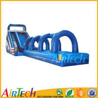 Commercial inflatable blow up water slide for sale