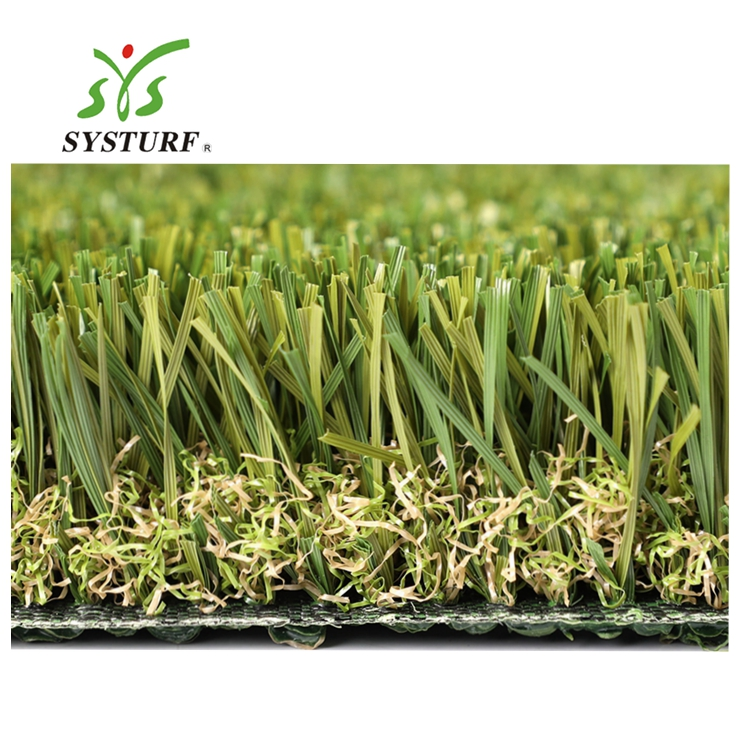 15 Feet width PU Backing <strong>W</strong> Shape Customized Decoration Artificial grass Artificial Lawn