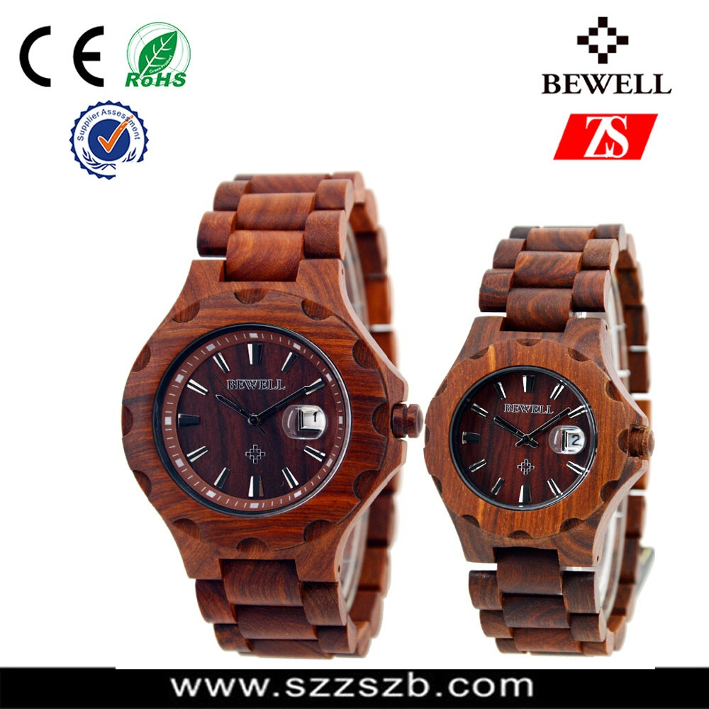 2016 New Arrival Bamboo Wooden Watch, Custom Logo Japan Movt Quartz Wood Watch