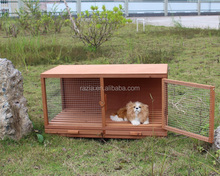 Cheap 2015 Popular Fashionable Wooden dog kennel house cage Hot Sale Pet Cages,Carriers & Houses