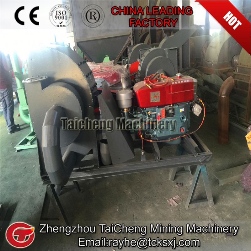 Energy saving agricultural type wood chips making machine from Taicheng