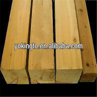 Rough cut fence wood timber
