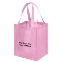 Recyclable custom printed foldable non woven bag