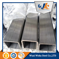 polished 304 stainless steel square pipe for furniture