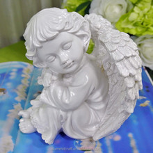 Resin sleeping small baby angels figurines wholesale art minds crafts