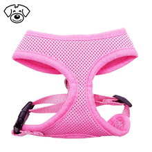 Soft mesh animal accessories dog harness anti pull comfort padded vest for small pet cat and puppy