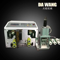 Fully Automatic Flat cables stripping cutting machine China supplier