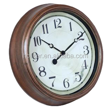 14inch plastic promotional reproduction antique clocks