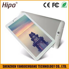 Hipo Small Slim Super General HD Player White Smart Pad Android 4.4 Tablet PC 3mp Camera with FM Transmitter Metal Body