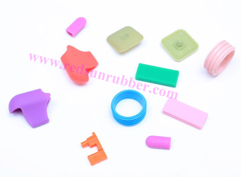 custom molded handle cover rubber grip part