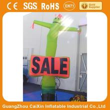 single leg sky dancer / air inflating gun for event promotion