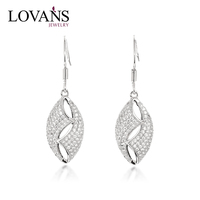 Most Popular Long Designs 925 Sterling Silver Earrins LWE0158