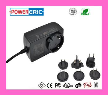 KC CE SAA UL approved 6v 12v interchangeable battery charger