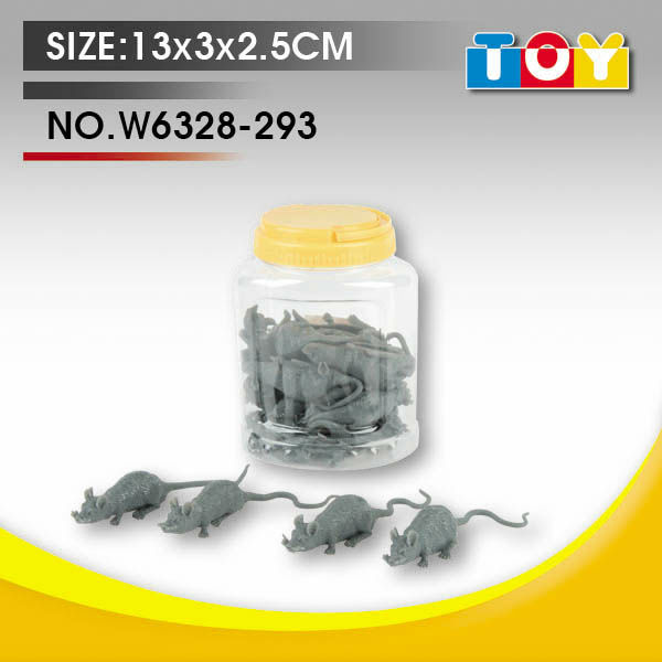 TPR rubber small rat for Kids toys promotion gift