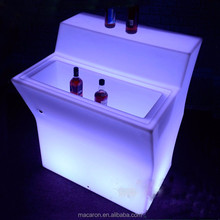 led light <strong>bar</strong> nightclub furniture portable mobile <strong>bar</strong> counter Party glowing table