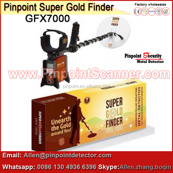 2017 New Arrival pulse induction metal detector GFX7000 long distance gold detector