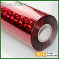 Laser Phantoscope Red Hot Stamping Foil Roll for Paper/Paper Bag/Carton/Wallpaper/Business Card/Cigarette Box 0.64M*120M