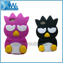 Silicon Penguin Phone Cover Case For Iphone4