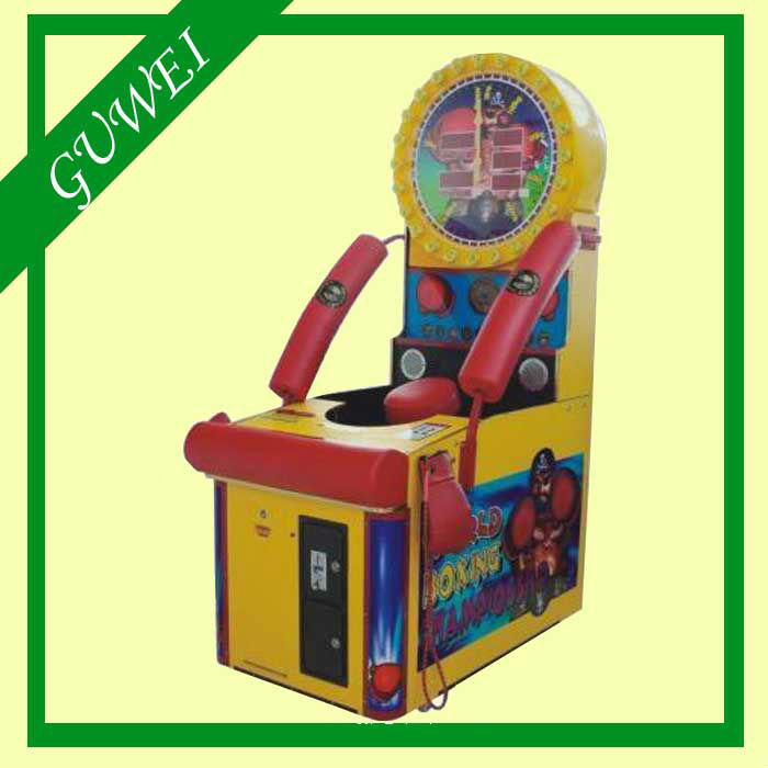 Amusement ticket arcade machine World Boxing Championship