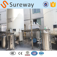 Small Scale Best Sell Vertical Pressure Tank/High Vacuum Multi-layer Wrap Insulation Tank