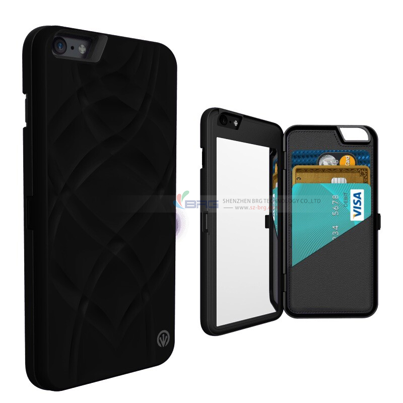 Custom design free sample tpu pc material fancy cell phone for Mirror iphone to pc