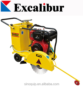 10hp portable diesel concrete cutter with 186F diesel engine
