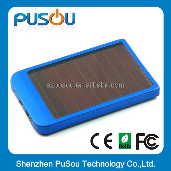5V 1A 5V 2.1A Tablet Lithium Battery Charger Solar Power Bank