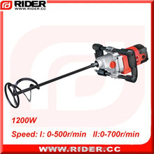 1200w drill type electric mini portable mortar mixer