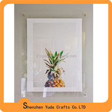 5mm+5mm thick wall lucite picture frame multi picture frame