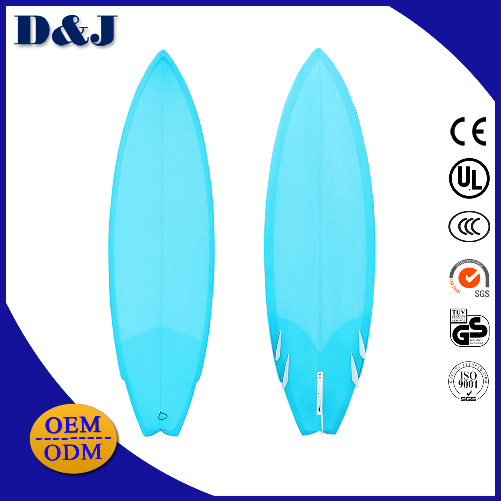 Wholesale Hot sale Foam Epoxy Fiberglass Swallow tail inflatable surf Surfboard with Fins and Leash